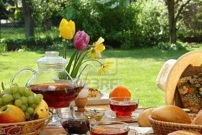 Cafe petit dejeuner page 17 for Brunch jardin